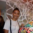 Exclusif - Flora Coquerel (Miss France 2014) - Cocktail d'inauguration de la première galerie Pop Art Concept store entièrement dédié aux oeuvres de Richard Orlinski à Paris, le 23 novembre 2017. © Rachid Bellak/Bestimage