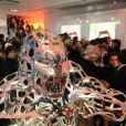 Exclusif - Atmosphère - Cocktail d'inauguration de la première galerie Pop Art Concept store entièrement dédié aux oeuvres de Richard Orlinski à Paris, le 23 novembre 2017. © Rachid Bellak/Bestimage