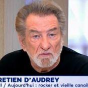"""Eddy Mitchell sur l'état de Johnny Hallyday : """"Il respire, c'est un battant"""""""