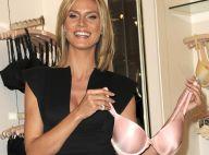 Heidi Klum ne quitte plus son soutien-gorge préféré et le montre à tout le monde !