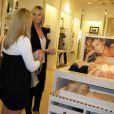 Heidi Klum lors de la promotion du nouveau soutien-gorge de Victoria's Secret mardi à Los Angeles