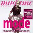Carla Bruni se confie dans Madame Figaro