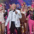 """Exclusif - Patrick Sébastien - Enregistrement de l'émission """"Le Plus Grand Cabaret du Monde spécial nouvel an"""" avec Patrick Sébastien. Le 4 décembre 2017. © Giancarlo Gorassini/Bestimage"""