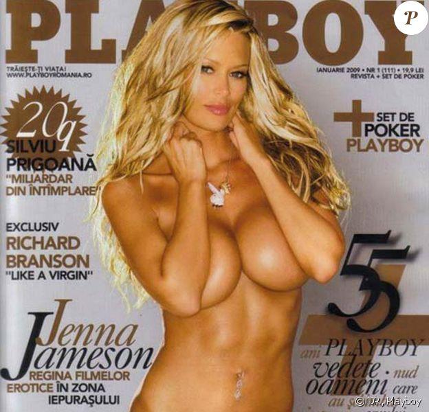 """La sculpturale Jenna Jameson en couverture du magazine """"Playboy""""... oserez-vous l'ouvrir ?"""