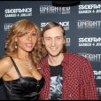 David et Cathy Guetta, un couple trop glam qui a mis le feu hier soir au Virgin Megastore de Paris