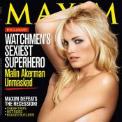 La superbe Malin Akerman topless... irradie les pages glacées et les salles obscures !