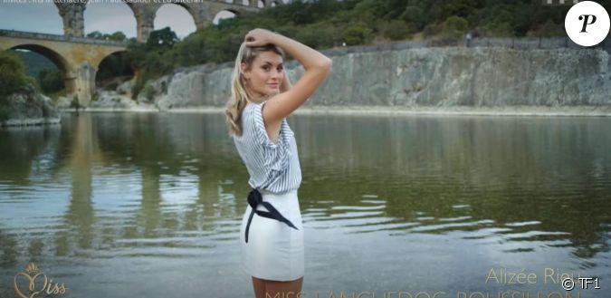 Miss Languedoc-Roussillon : Alizée Rieu - Concours Miss