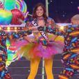 Miss Ile-de-France : Lison di Martino - Concours Miss France 2018. Sur TF1, le 16 décembre 2017.