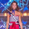 Miss Alsace : Joséphine Meisberger             en tenue du 14 juillet - Concours Miss France 2018. Sur TF1, le 16 décembre 2017.