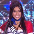 Miss Réunion :   Audrey Chane-Pao-Kane             en tenue du 14 juillet - Concours Miss France 2018. Sur TF1, le 16 décembre 2017.