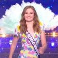 Miss Saint-Pierre et Miquelon :      Héloïse Urtizberea             en maillot de bain - Concours Miss France 2018. Sur TF1, le 16 décembre 2017.