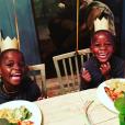 Estere et Stella sur Instagram, le 27 août 2017.