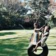 Estere et Stella sur Instagram, le 14 juillet 2017.