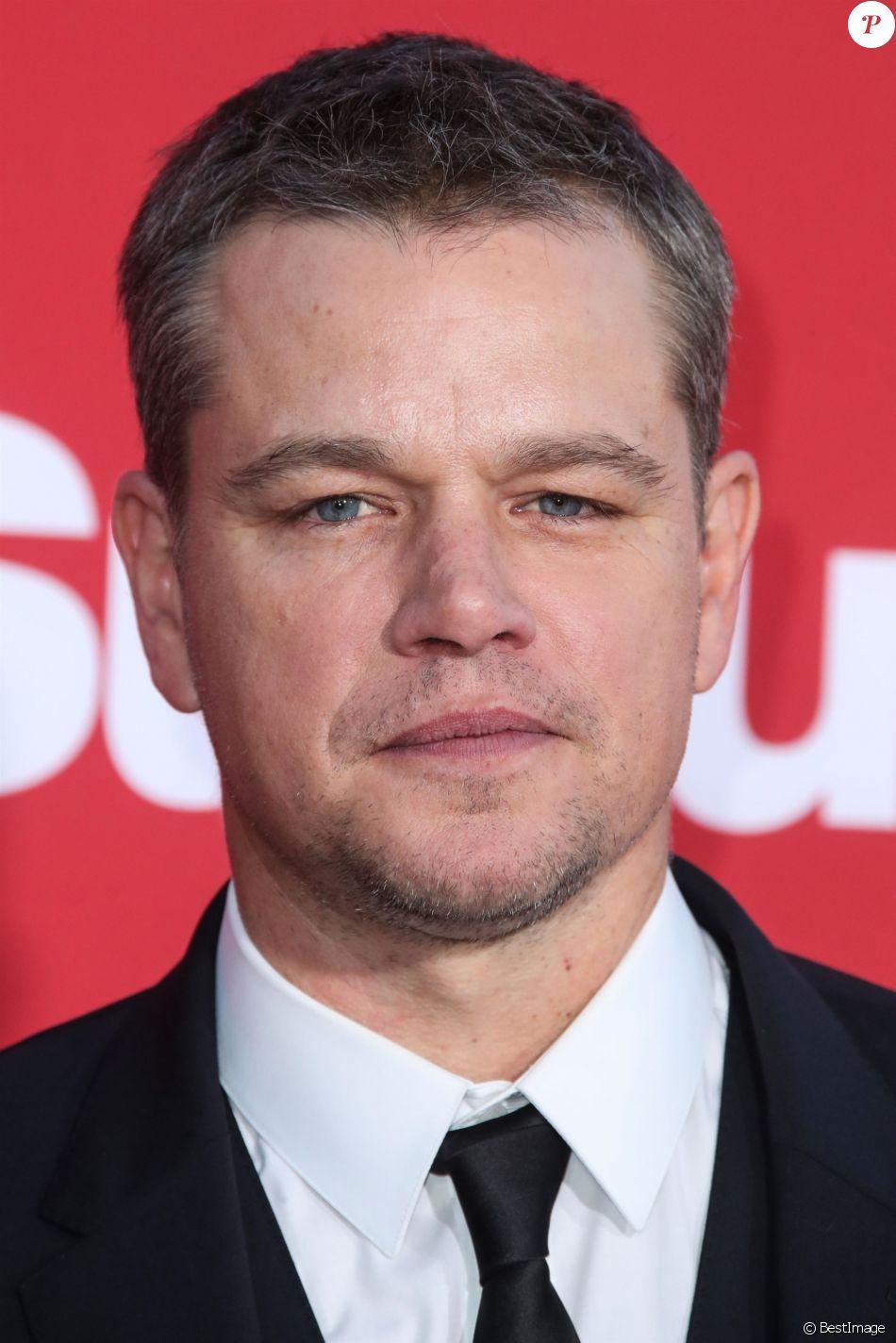 Matt Damon à la première de 'Suburbicon' au théâtre Regency Village à Westwood, le 22 octobre 2017