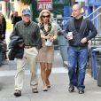 """""""Matt Damon avec son père Kent Damon à Boston en 2012."""""""