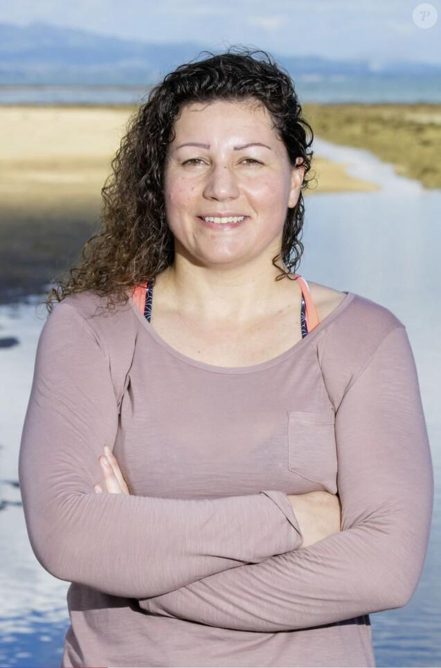 """Sandrine, 43 ans, directrice de relation clientèle et candidate de """"Koh-Lanta Fidji"""" sur TF1."""