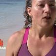 Koh-Lanta Fidji, épisode 6, le 6 octobre 2017 sur TF1. Ici Sandrine.