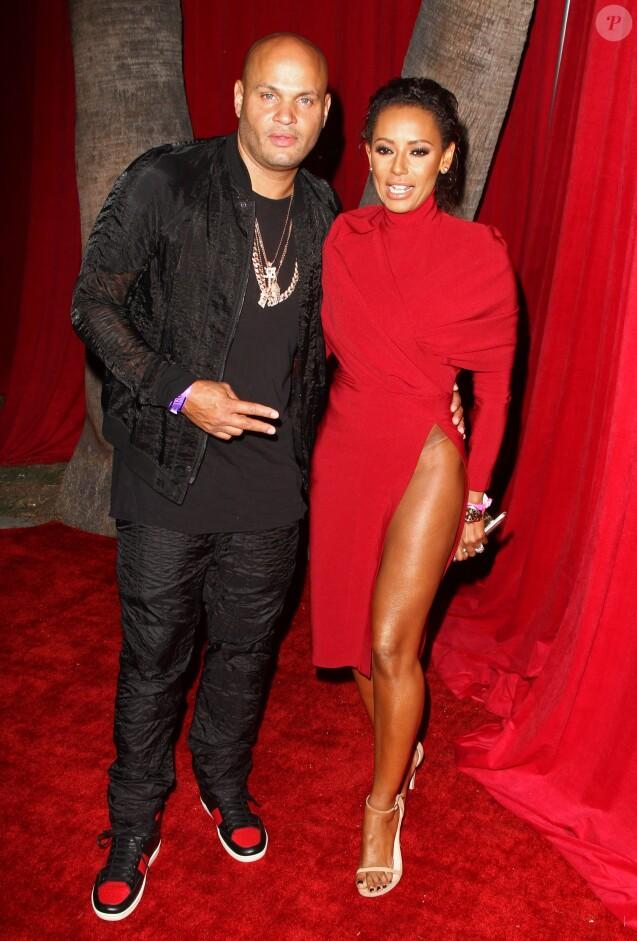 """Mel B (Melanie Brown) et son mari Stephen Belafonte lors de la soirée """"Maxim hot 100"""" au Hollywood Palladium à Hollywood le 31 juillet 2016."""