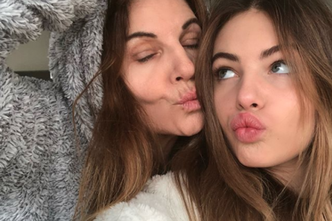 Véronika Loubry et sa fille Thylane Blondeau : Troublants sosies si complices