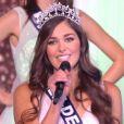 Miss Ile-de-France : Lison di Martino demi-finaliste - Concours Miss France 2018. Sur TF1, le 16 décembre 2017.