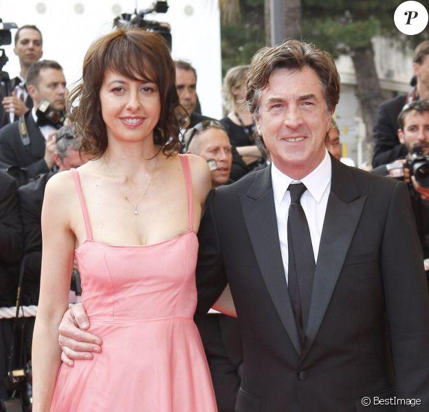 Valérie Bonneton et François Cluzet au Festival de Cannes 2009