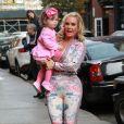 Coco et sa fille Chanel à New York le 4 novembre 2017.