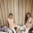 Pauline Ducruet jouant les mannequins pour les créations d'une amie, photo Instagram 6 décembre 2017