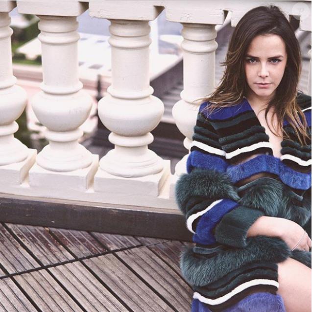 Pauline Ducruet en mode poseuse sur Instagram le 28 novembre 2017