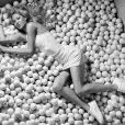 La très jolie Anna Kournikova, le top model des courts de tennis, très élégante pour la campagne de la nouvelle collection Kswiss !