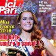 Magazine Ici Paris en kiosques le 20 décembre 2017.