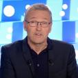 """Laurent Ruquier prend la parole suite à l'affaire Christine Angot - Sandrine Rousseau. Emission """"On n'est pas couché"""" sur France 2. Le 7 octobre 2017."""