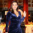 Exclusif - Eva Longoria et son mari J.Baston sont allés dîner au restaurant Cipriani à New York.