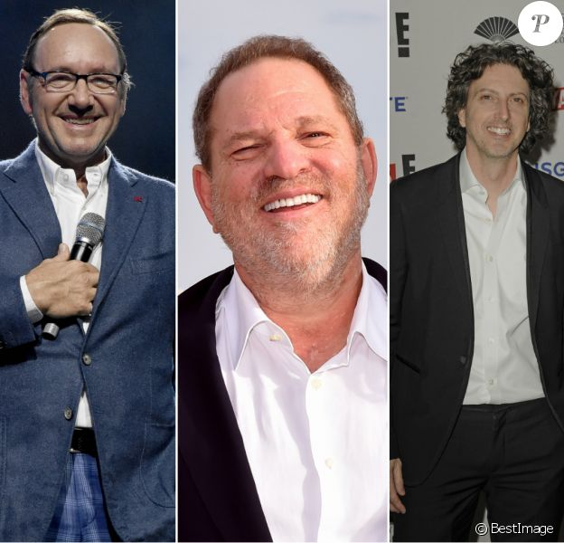 Kevin Spacey, Harvey Weinstein et Mark Schwahn.
