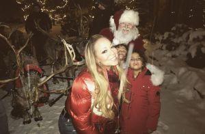 Mariah Carey : Ses jumeaux ont reçu la visite du Père Noël à Aspen