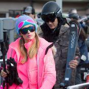 """Paris Hilton, in love et tout de rose vêtue au ski : """"Aspen Barbie"""""""