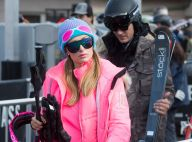 "Paris Hilton, in love et tout de rose vêtue au ski : ""Aspen Barbie"""