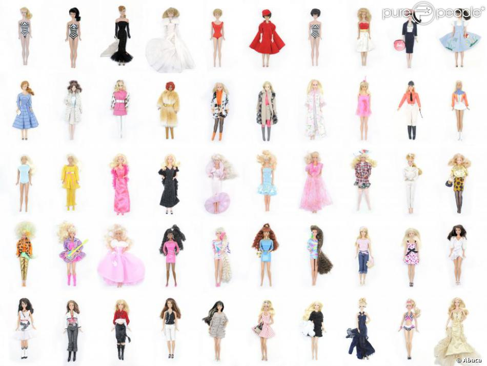 Barbie volution - Evolution de la mode ...
