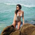 Alessandra Ambrosio à Florianópolis. Décembre 2017.