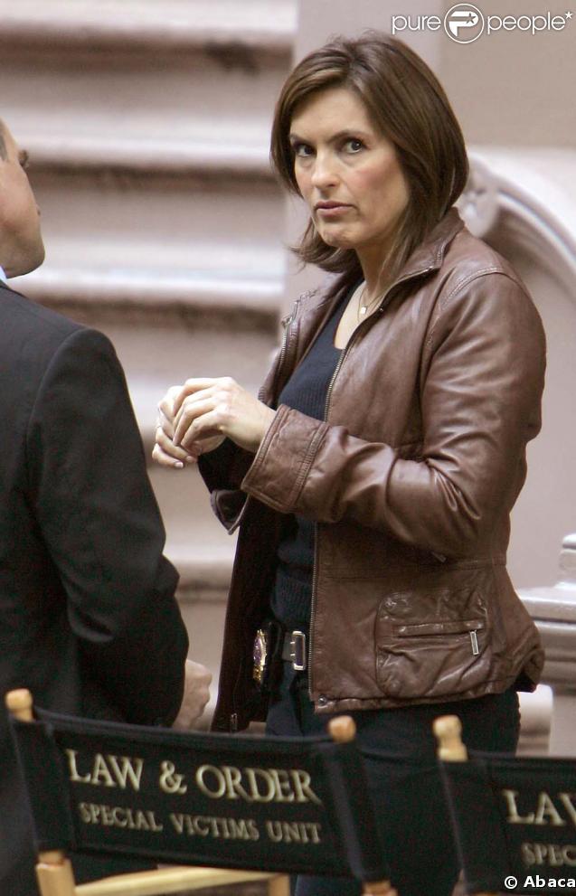 Mariska Hargitay, interprète du détective Olivia Benson dans New York Unité Spéciale.