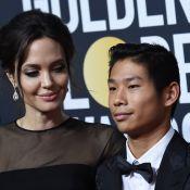 Angelina Jolie brille sans Brad mais avec Pax... devant Jennifer Aniston