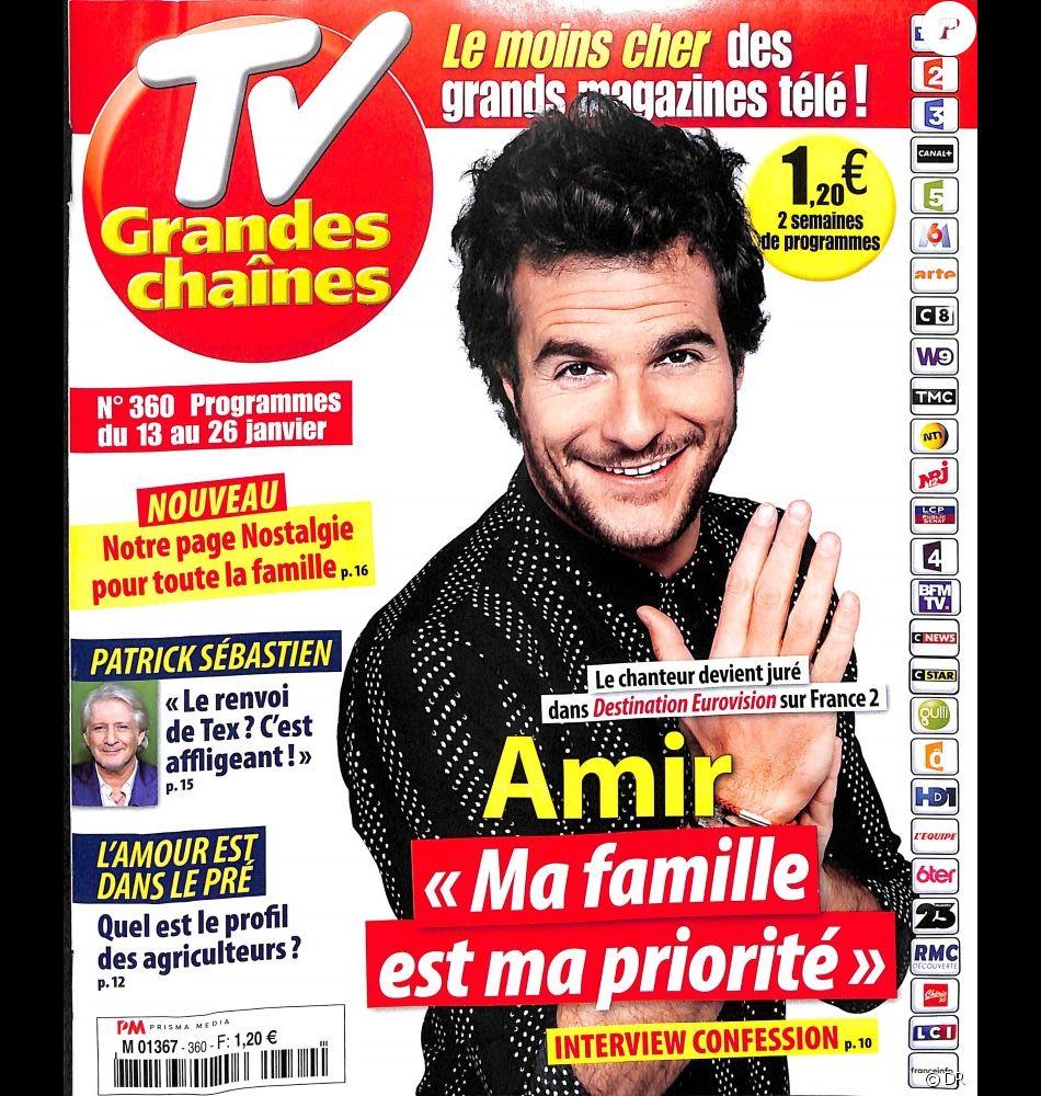 Tv Grandes Chaines En Kiosques Le 8 Janvier 2018 Purepeople