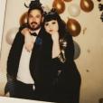 Beth Ditto et son amoureux Teddy Kwo, le 31 décembre 2017.