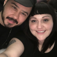 Beth Ditto et son amoureux Teddy Kwo, janvier 2018.