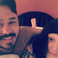 Beth Ditto et Teddy Kwo, le 8 janvier 2017.