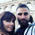 """Charlène et Florian, candidats de """"Mariés au premier regard"""" (M6), se retrouvent en amoureux pour un séjour à Rome, en Italie."""