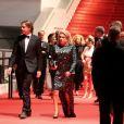 Benjamin Biolay et Catherine Deneuve - 67e Festival de Cannes, le 21 mai 2014.