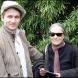Stanislal Merhar et sa mère