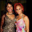 Mia Frye et sa mère Radyah