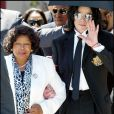 Michael Jackson et sa mère Katherine