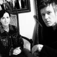 Dolores O'Riordan et son amoureux Olé Koretsky en mars 2016, photo Instagram du compte de D.A.R.K. Elle collaborait depuis 2014 avec Olé et Andy Rourke de The Smiths aiu sein du groupe D.A.R.K, auteur de l'album Science Agrees (2016).